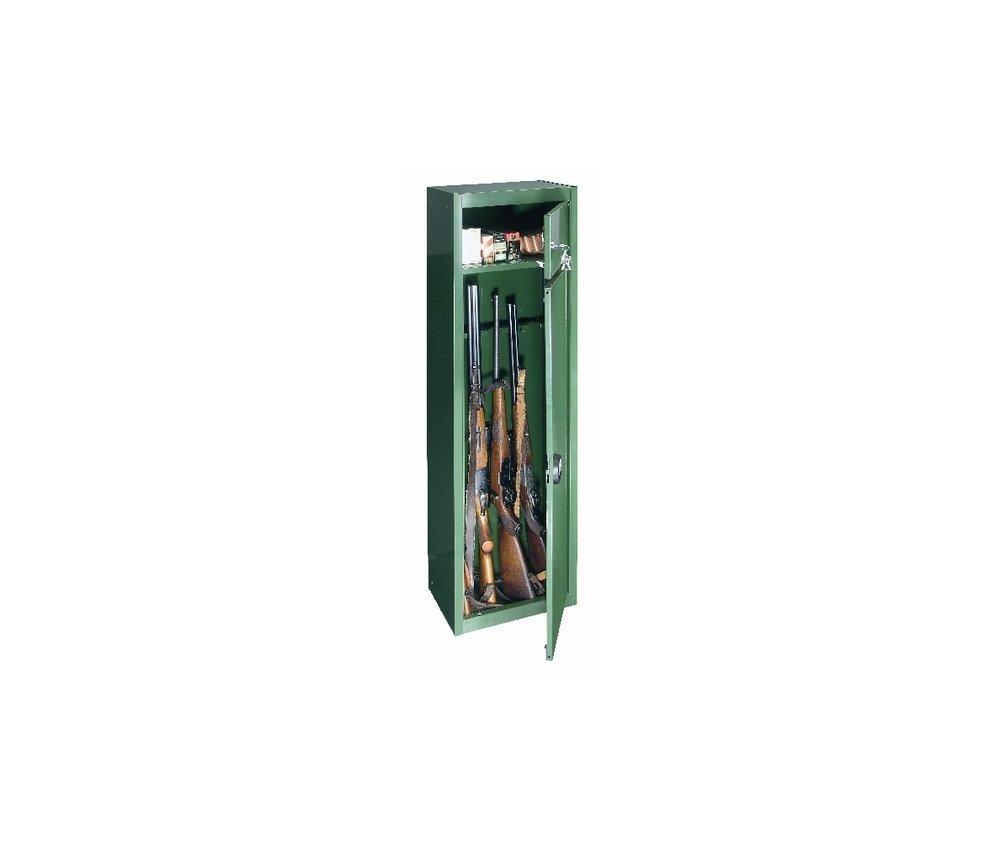 Fegyverszekrény GUN 5 zöld 1500x370x260mm