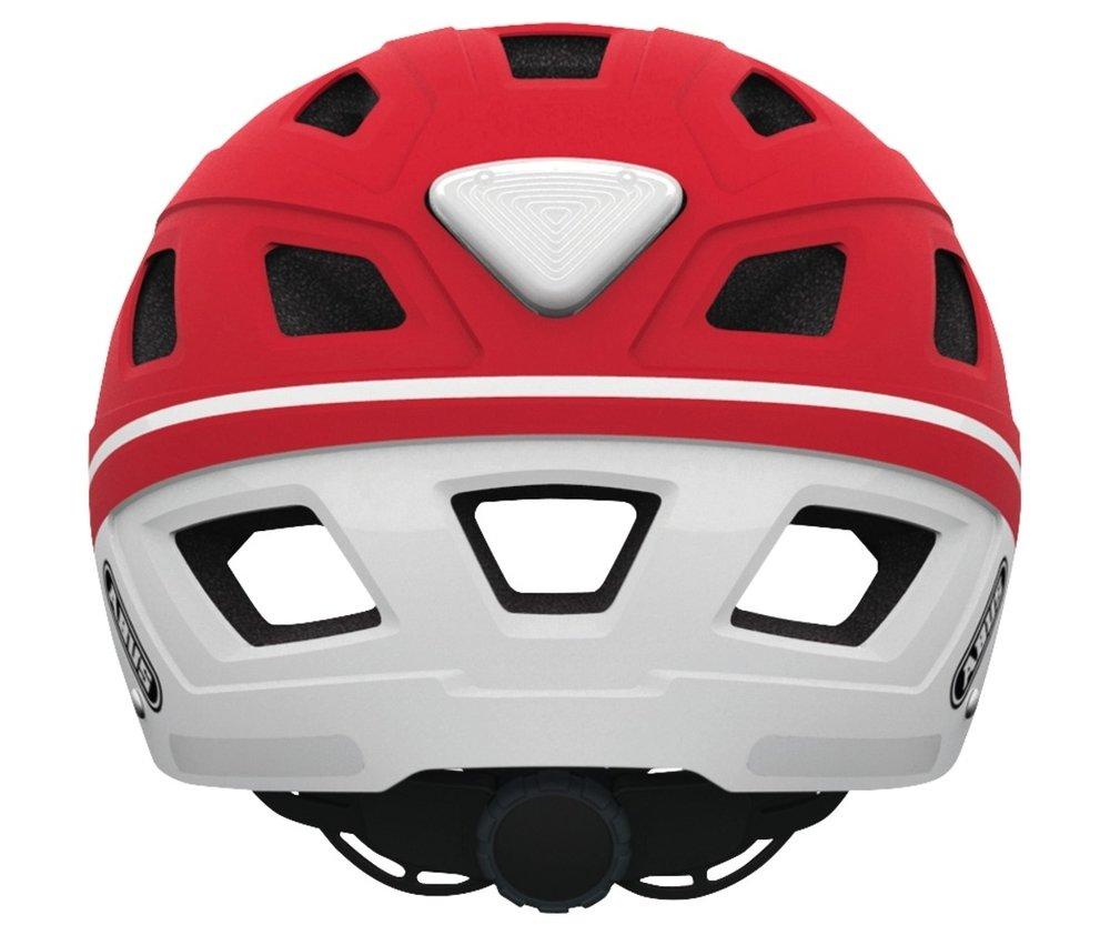 Abus casca de ciclism Hyban  label red