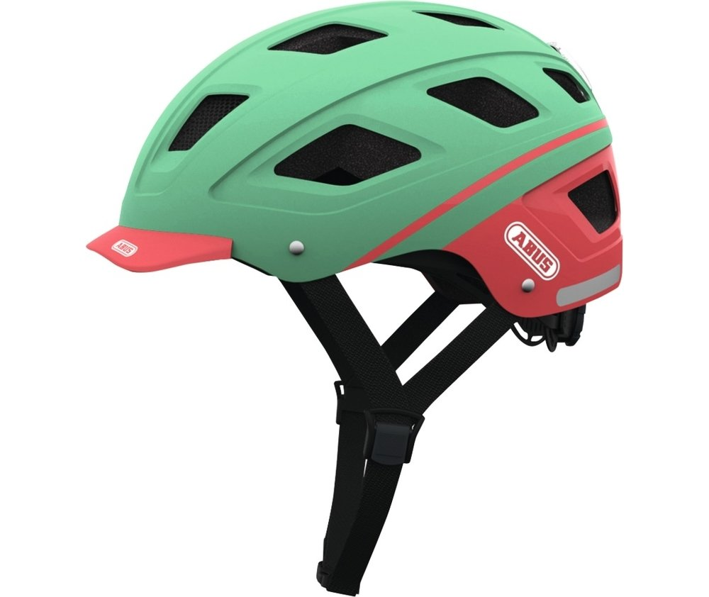 Abus casca de ciclism Hyban  label green