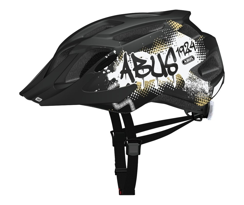 Abus casca de ciclism MountX Kids black tag