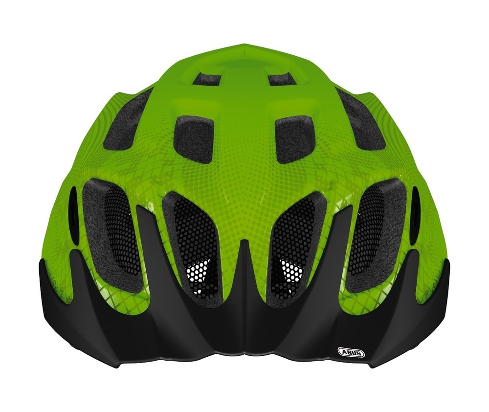 Abus casca de ciclism MountX Kids apple green