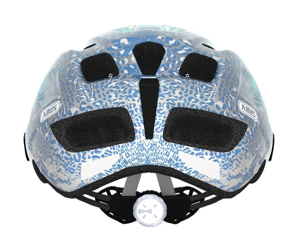 Abus casca de ciclism MountX Kids blue animal