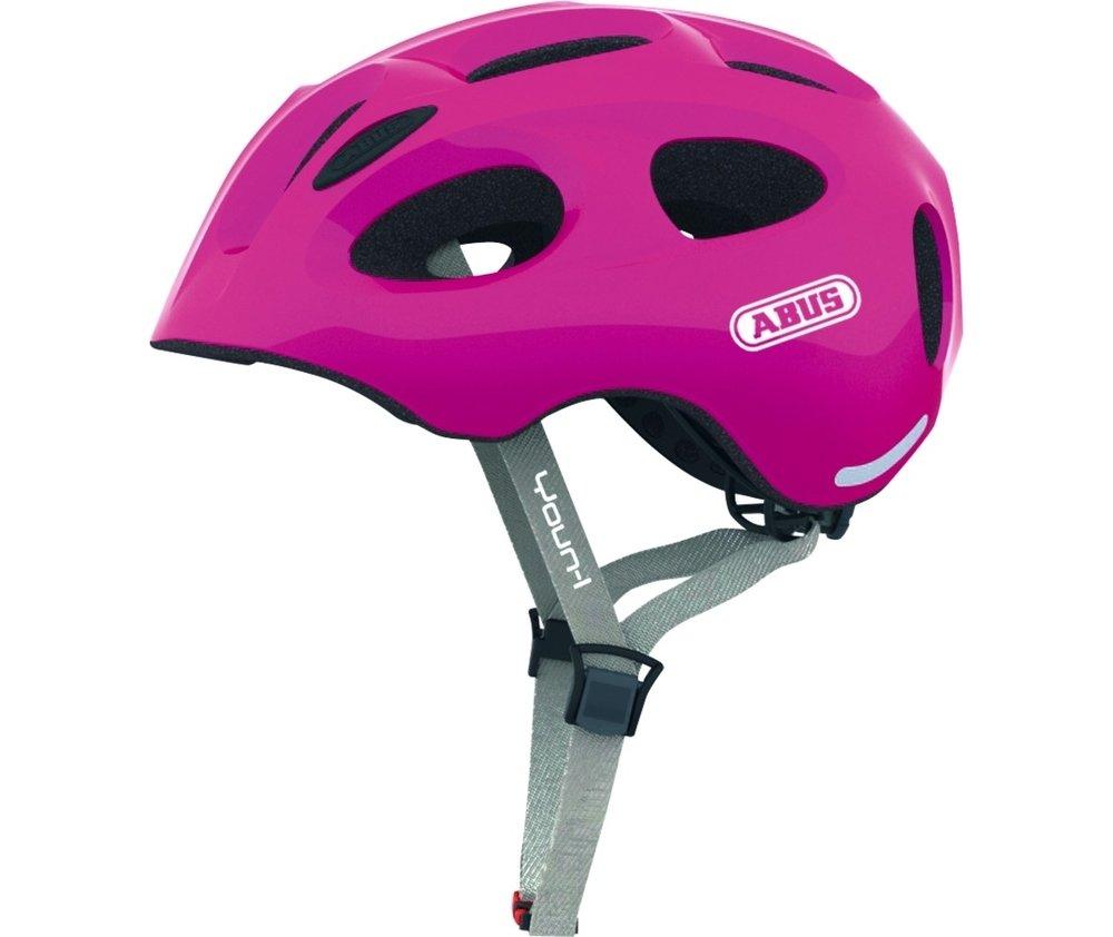 Abus casca de ciclism Youn-I Kids sparkling pink