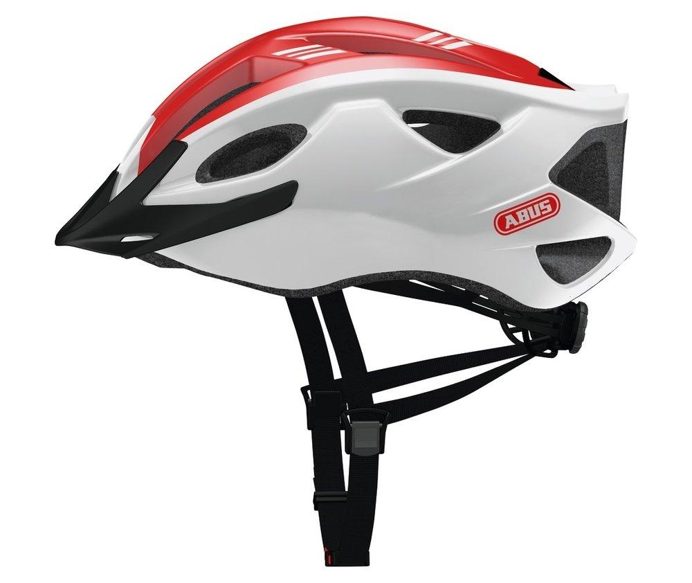 Abus casca de ciclism S-Cension  race red