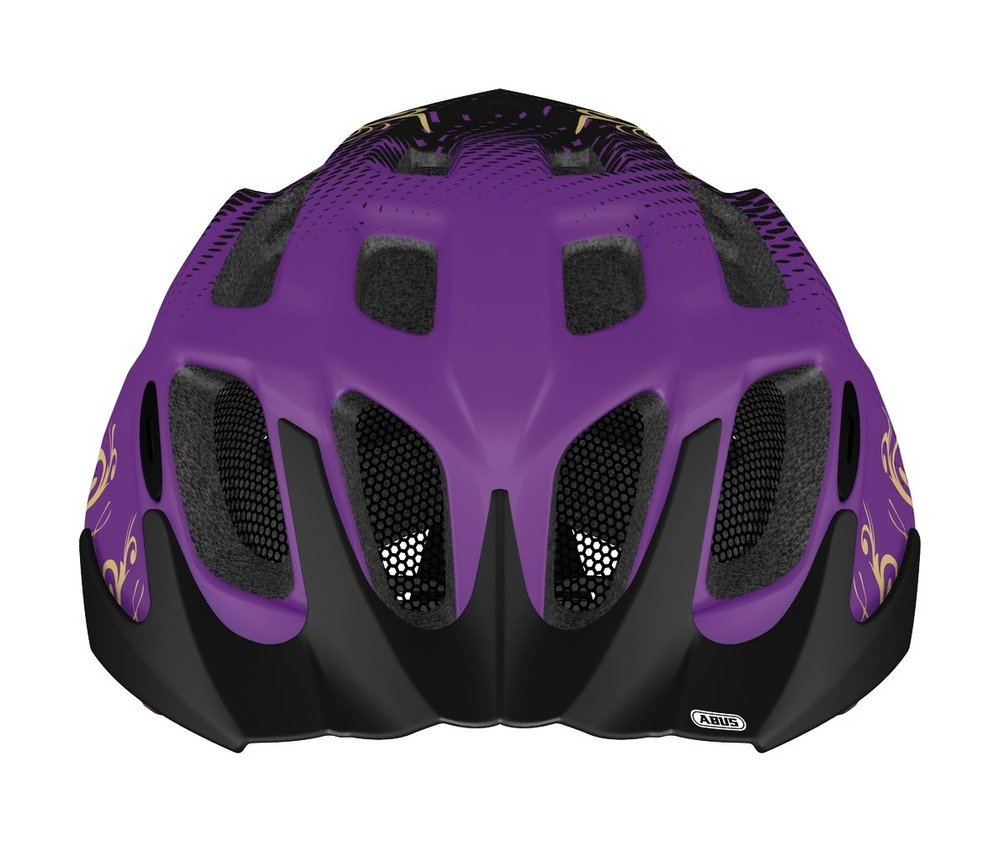 Abus casca de ciclism MountX Kids maori purple
